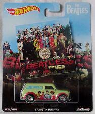 "2017 Hot Wheels Pop Culture ""The Beatles"" '67 Austin Mini Van, Ships World Wide"