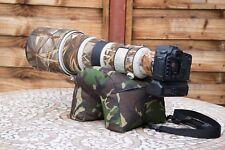 Appareil photo Poire U Forme Carnet imperméable DPM Camo Cordura L9 W8 H8 pouces