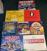 13 Board Games Lot Used Perfect