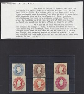 Collection of Reay Cut Squares 1870-1874