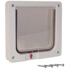 """Ideal Pet Products CAT FLAP PLASTIC SMALL CF Pet Door 1.625"""" x 8.1875"""" x 7.9375"""""""
