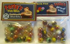2 Bags Of Porky's Pee Wee Championship Promo Marbles