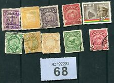 Lot  stamps  of   Bolivia