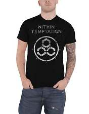 Within Temptation T Shirt Unity Band Logo new Official Mens Black