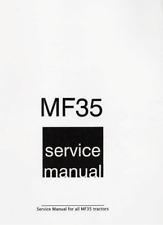 Massey Ferguson MF-35 Tractor Shop Service Repair Workshop Manual MF35 coil bind