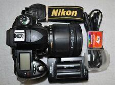 New ListingNikon D D70 Digital Slr Camera - with Tamron Af-Ld 28-200 Mm Lens)