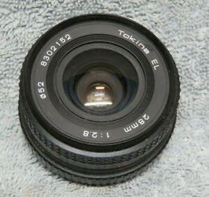 Vintage Tokina 28mm Lens.