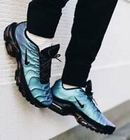 New NIKE Air Max Plus TN Men's Sneakers metallic blue green crimson all sizes