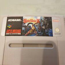 Super Nintendo - SNES - Game - Super Castlevania IV - Genuine - Tested.