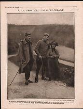 WWI Alsace-Lorraine Poilus Balles Lebel Soldiers Serbia Russia 1918 ILLUSTRATION