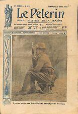 Portrait Sammies Soldiers US Army War Mexico Mexique WWI 1917 ILLUSTRATION