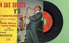 GUY LAFITTE / 4 Sax Succes Vol. 6 / PATHE EA 473 S Pressing France 1960 EP EX