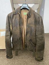 Levi's Vintage Clothing LVC 1930s Menlo Leather Jacket Bond Skyfall 007 Small