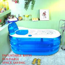 Portable Inflatable Adult PVC Warm Bath Bathtub Foldable Indoor Bathroom Tub SPA