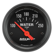 """Autometer 2635 Z-Series 2-1/16"""" Water Temperature 100-250 Degrees Electrical"""