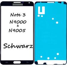 Frontglas Für Samsung Galaxy Note 3 N9005 Front Glas Schwarz + Klebefolie