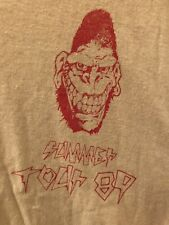 Gorilla Biscuits 1989 US Tour Shirt XL Judge Youth Of Today Revelation Warzone