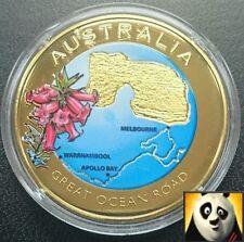 Australia 2010 40mm moneda gran océano carretera Color Bronce Medalla sólo 10,000!