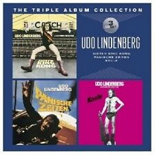 UDO LINDENBERG -THE TRIPLE ALBUM COLLECTION (SISTER KING KONG/KEULE/+) 3 CD NEUF