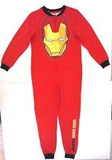 Marvel Avengers Assemble Boy's Iron Man  Footie Pajama Size 12 NWT