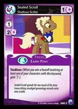 3x Sealed Scroll, Studious Scribe - 60 - My Little Pony Canterlot Nights MLP CCG