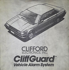 Clifford CliffGuard Vehicle Alarm System (BRAND NEW!)