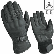 HELD Motorradhandschuhe STROKE schwarz Held-Tex Membrane Leder CE  Gr. 10 / XL