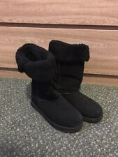 Womens Skechers Boots, Black, Size 3