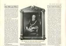 1909 Portrait Late Duke Of Devonshire Provincial Grand Lodge Derby