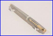 Parker 75 Cicelé Rollerball Pen Schachmuster 925 Sterling Silber Tintenroller
