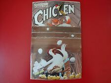 Chicken from Synapse Software for Atari 400/800 16K Cassette