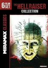 Hellraiser 3 4 5 6 7 8 DVD Collection Hell on Earth Bloodline Inferno Hellworld