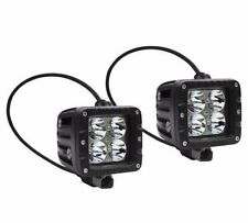 Pair Of Aurora 2 Inch LED Work Light Dually Cube Off Road Spot 40W 3200 Lumens