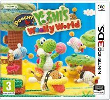 POOCHY ET YOSHI'S WOOLLY WORLD JEU 3DS NEUF