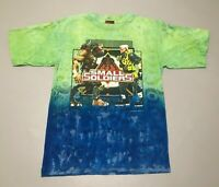 Vintage 1998 Small Soldiers Gorgonites Commando Elite Movie T-Shirt Adult Size S