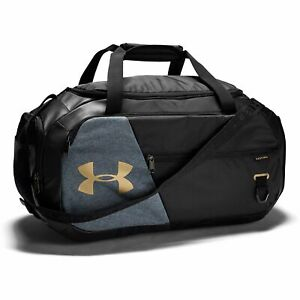 UNDER ARMOUR Undeniable 4.0 Duffle Bag Black/Gold/Metalic New