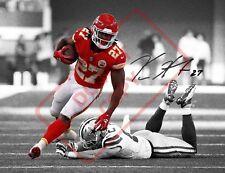 8.5x11 Autographed Signed Reprint RP Photo Kareem Hunt KC Chiefs