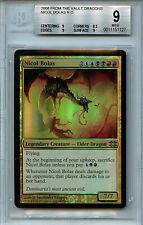 MTG Nicol Bolas BGS 9.0 (9) Mint FTV Dragons Magic Foil Amricons 8693