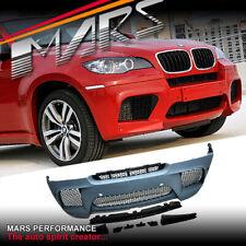 X6M Style Front Bumper Bar for BMW E71 X6 08-12 30i 35i 35d 40d 50i Bodykit