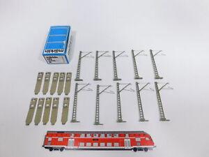 CT26-0, 5 # Märklin H0/AC Masts / Mast 7509; 10x; M Track Overhead Line Mint+Box