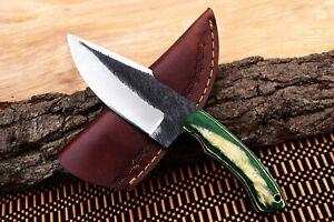 """8"""" MH KNIVES CUSTOM HANDMADE CARBON STEEL FULL TANG HUNTING/SKINNER KNIFE CS-28T"""