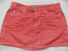 CROCKER cooler Jeans Minirock rot Gr. M TOP ZC1018