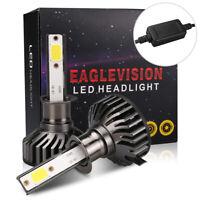 Pair H1 voiture 1400W 210000LM LED Conversion phare 6500K ampoules Blanc