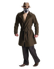 Watchmen Costume, Mens Rorschach Costume, Standard, CHEST 44""