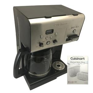 Cuisinart 12-Cup Programmable Coffee Maker, Hot Water Dispenser, 2 Water Filters