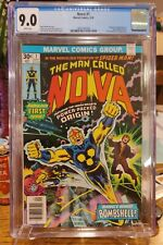 The Man Called Nova #1 - Marvel Comics, 9/76 - CGC 9.0 - Nova Origin & 1st Appea