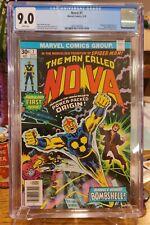 The Man Called Nova #1 - Marvel Comics, 9/76 - CGC 9.0 - Nova Origin & 1st Appea