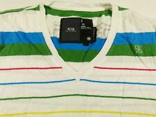 T244 G-STAR striped t shirt top size S, excellent condition!