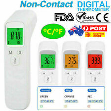 Digital IR Thermometer Forehead Ear Non-contact Infrared Body Temperature Gun AU