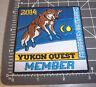 2014 Alaska Yukon Quest 1000 mi Dog Sled Race Embroidered Patch - MEMBER